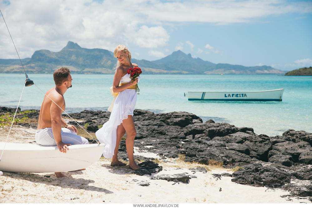 Engagement photo shoot in Mauritius